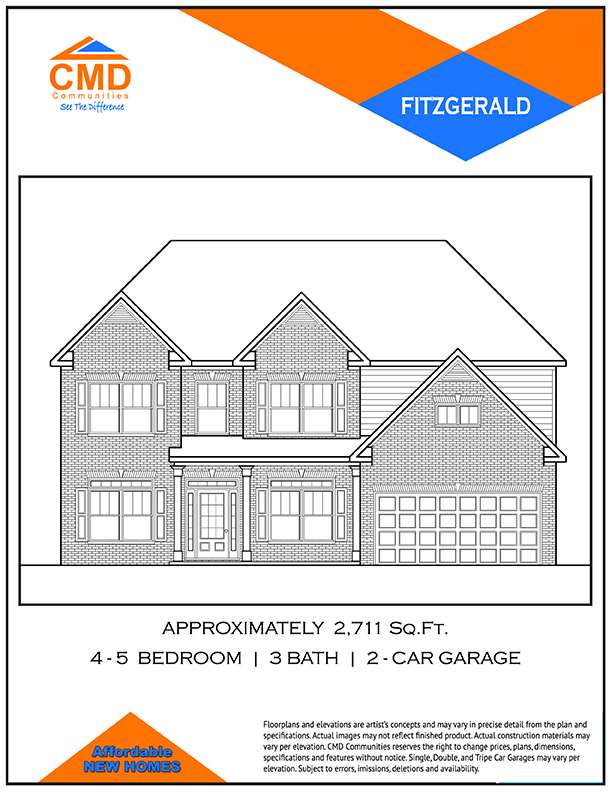 Fitzgerald Floor Plan