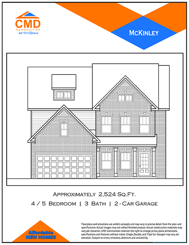 McKinley Floor Plan