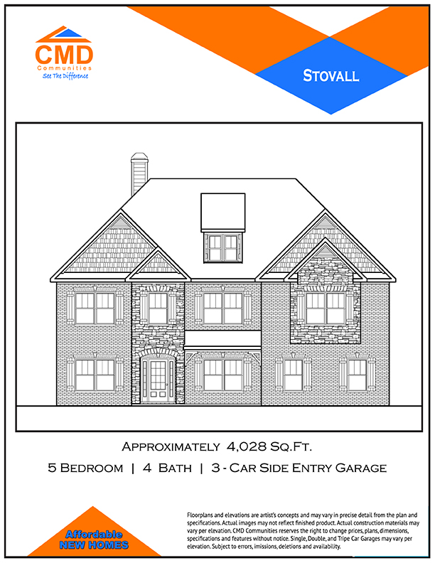 Stovall Floor Plan