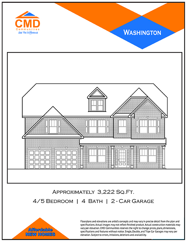 Washington Floor Plan